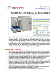 Tek-MDS - Model Rev: 2.7 - Software for Series 2700 Systems - Brochure