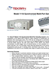Tekran 1115i Synchronized Multi-Port Sampler - Brochure