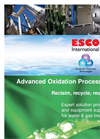 ESCO - Advanced Oxidation Processes - Brochure