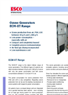 Industrial Ozone Generators - ECM-XT (40 to 1300 g/h) - Brochure