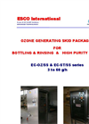 ESCO - Model EC-OZ/SS & EC-ST/SS Series - Ozone Generating Skid Packages - Brochure