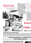 The Rutgers Environmental and Public Health Summer Career Prep Program