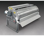 Rotary Drum Screen Separates Solids from Waste Streams without Clogging