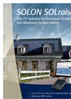 SOLON SOLraise - Photovoltaic System - Brochure