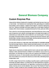 Custom Enzymes Plus Brochure