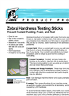 Zebra - Hardness Testing Sticks Brochure