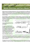 Waste Diversion and Zero Waste Services Brochure