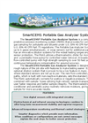 SmartCEMS - Model PGAS - Portable Gas Analyzer System - Brochure
