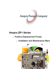 Model ZP1 Series - Positive Displacement Pumps Flyer Brochure