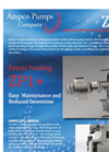 Positive Displacement Pumps ZP1+ Series - Flyer
