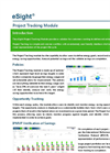Project Tracking Module Sheet