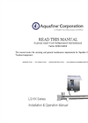 Aquafine TSG 117 High Performance UV System Brochure