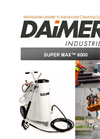 Daimer - Model Super Max 6000 - Pressure Washers - Brochure