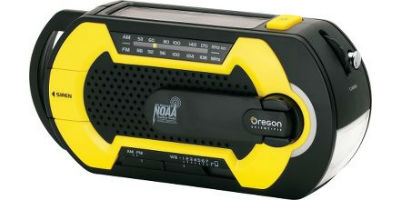 Model WR201 - Multi Powered Emergency Radio