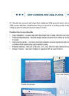 Drip Screens and Seal Plates- Brochure