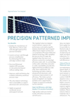 Applied Solion Ion Implanter System- Brochure