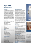 Marsh Bellofram - Model Type 1000 - Electro-pneumatic Transducer - Brochure