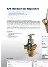 Marsh Bellofram - Model T39 - Air Pressure Regulator - Brochure