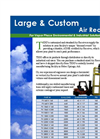 Large & Custom Designed Air Receiver Tanks
