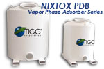 NIXTOX PDB Series - Model 750-5000 - NIXTOX Vapor Phase Adsorbers