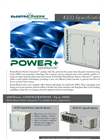 Power+ Generator 4200 - up to 35 kWe Lowest Output Machine Specifications