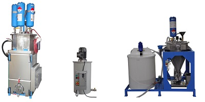 Industrial Dispersing Units for On-Site Production of nZVI Slurries