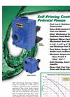AMT Self Priming Centrifugal Pedestal Pumps Brochure