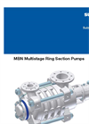 MBN Medium Pressure Stage Casing Pumps Brochure