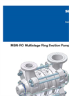 Sulzer MBN-RO Multistage Ring Section Pumps Brochure