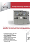 MAGS - Energy Generating Device Fuelled by Waste Brochure