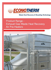 ECONOTHERM - GA - Gas to Air Heat Exchangers - Brochure