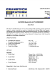 Saturn 60-44HT Shredder Datasheet