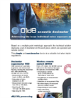 01dB - WED - Noise Dosimeter Brochure