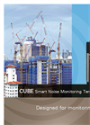 01dB CUBE - Smart Noise Monitoring Terminal Brochure