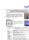 Model LED-L16 - LED Dimmable Photoreactors Brochure