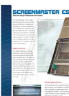 Screenmaster - CS - Wastewater Bar Screen - Brochure