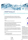Hatenboer-Water Hadex - Hadex Dosing Unit - Brochure
