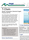 T-Chain - Temperature String For Water Quality Monitoring And Lake Management Device Datasheet