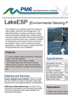 LakeESP - Environmental Sensing Platform (ESP) For Water Quality Monitoring And Management Datasheet