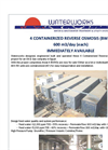 4 Containerized Reverse Osmosis Unit- Brochure