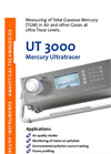 Mercury UltraTracer - UT 3000 - Gaseous Detector Brochure