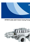 HPDM - Axially Split Volute Casing Pump Brochure