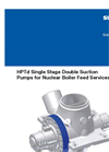 HPTd - Single Stage Double Suction Pumps Brochure