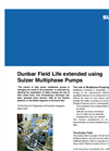 Dunbar Field Life Extended Using Sulzer Multiphase Pumps Brochure