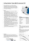 ABS - 701 - Lifting Station Piranhamat Datasheet
