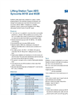 Sulzer - Model Type ABS Synconta 901B and 902B - Lifting Station Technical Datasheet