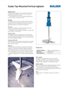Sulzer - Scaba Top-Mounted Vertical Agitators Datasheet