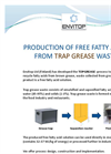 TOPGREASE  - Production of Free Fatty Acids from Trap Grease Waste - Brochure