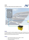 Product information solar pumping system