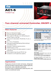 AC1-5 Two Channel Universal Controller, ON/OFF or PID Brochure
